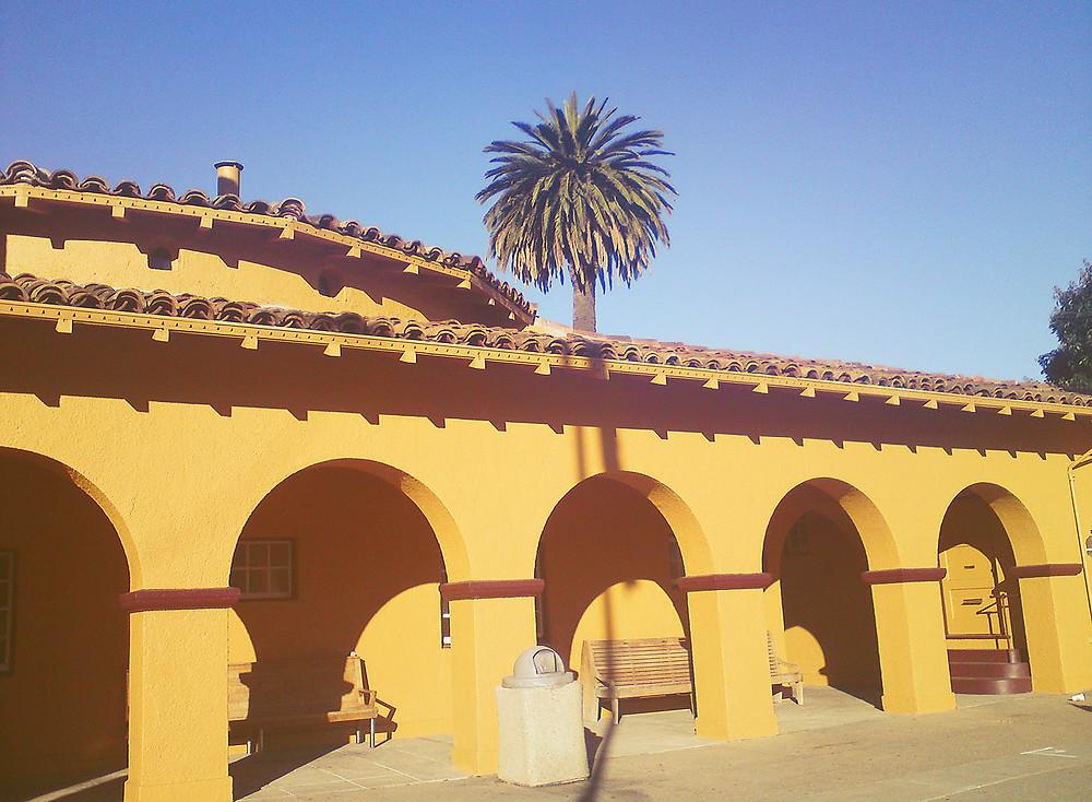 Burligame, CA CalTrain Station