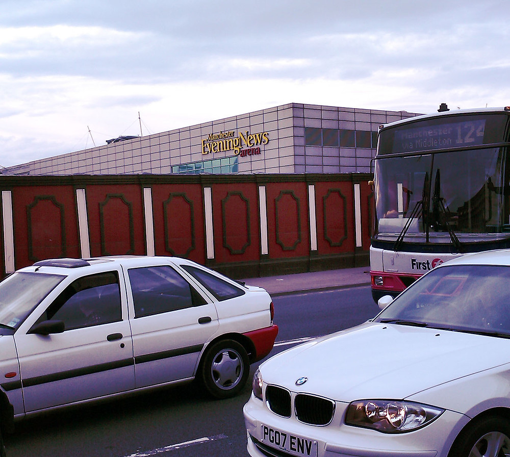 Manchester Evening News Arena, 2009