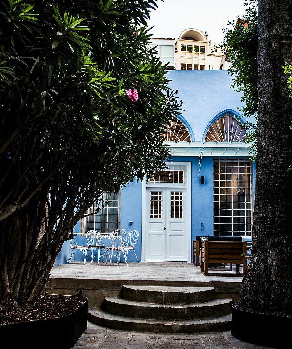 Blue building on Gourad Street, Beirut