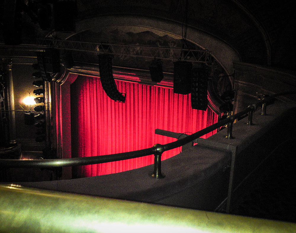 St. James Theater balcony view