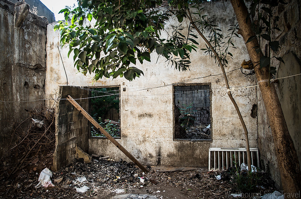 Abandoned building in Beirut