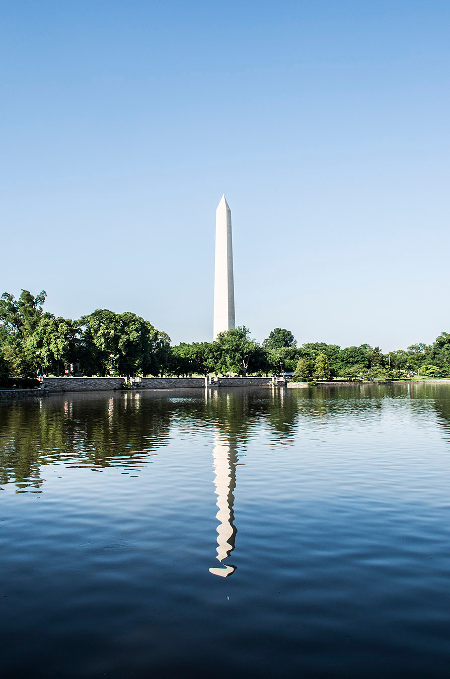 Washington Memorial reflection DC