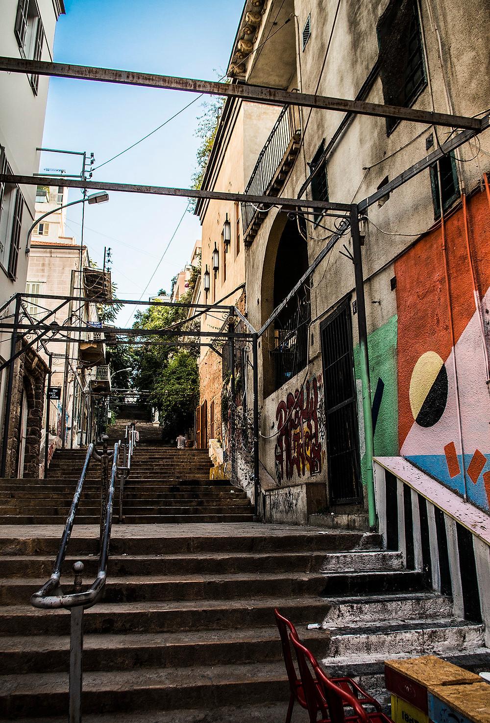 St. Nicholas Stairs, Beirut, Lebanon