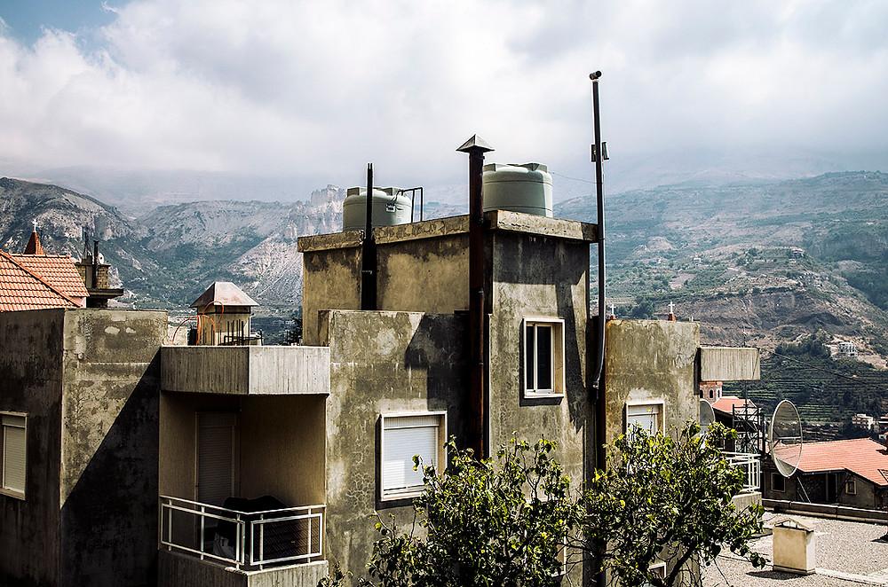 Streets of Bsharri, Lebanon