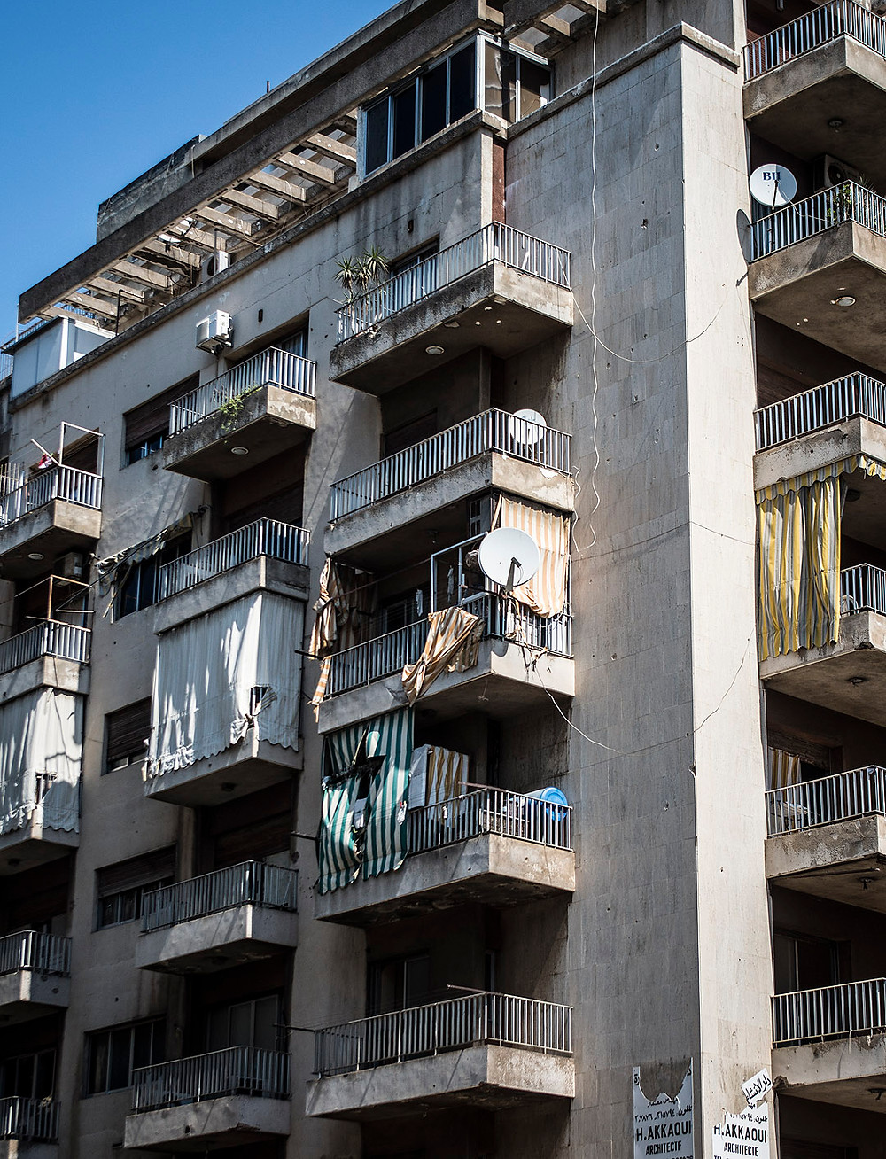Apartment block in Beirut