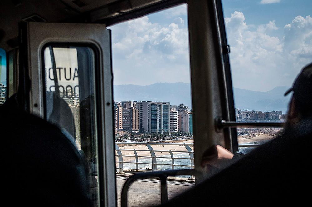 15 bus Beirut, Lebanon