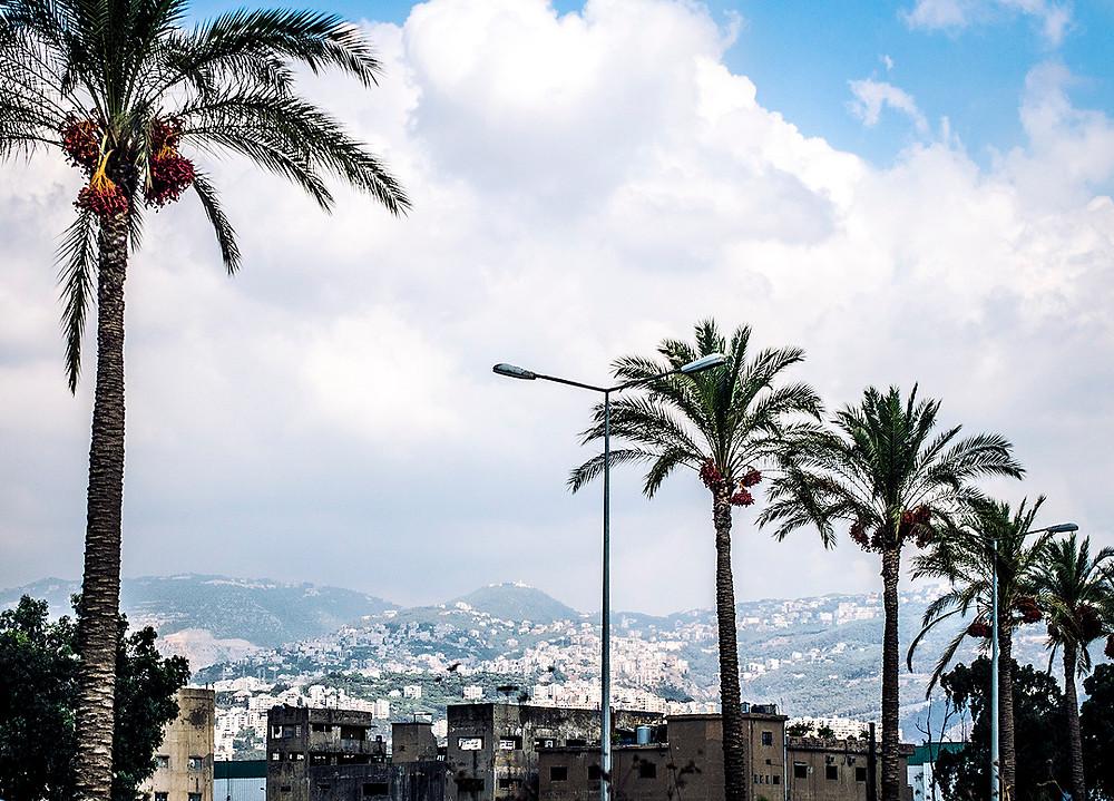 Hills from Bourj Hammoud, Beirut