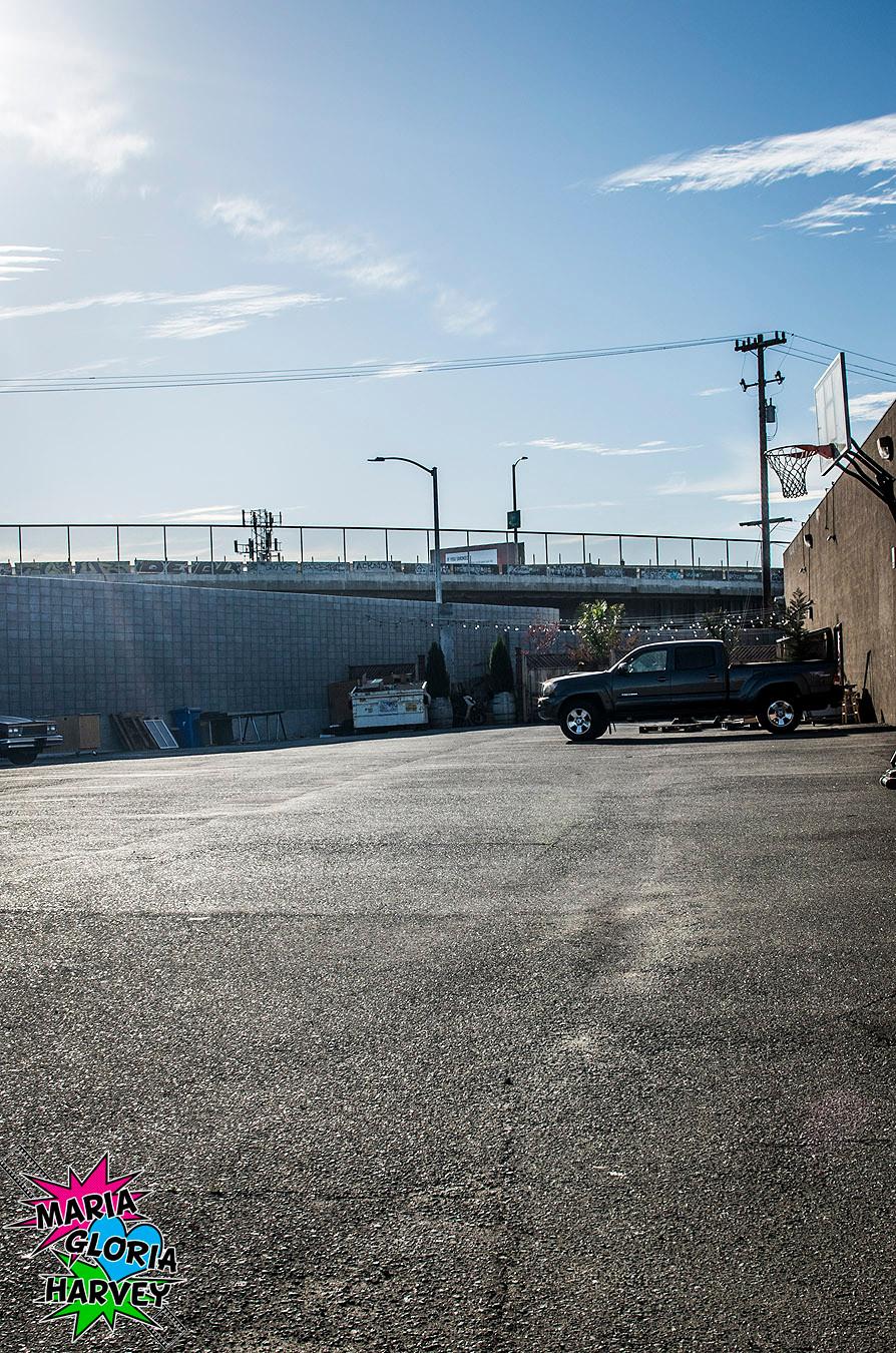 Jingletown Studios parking lot