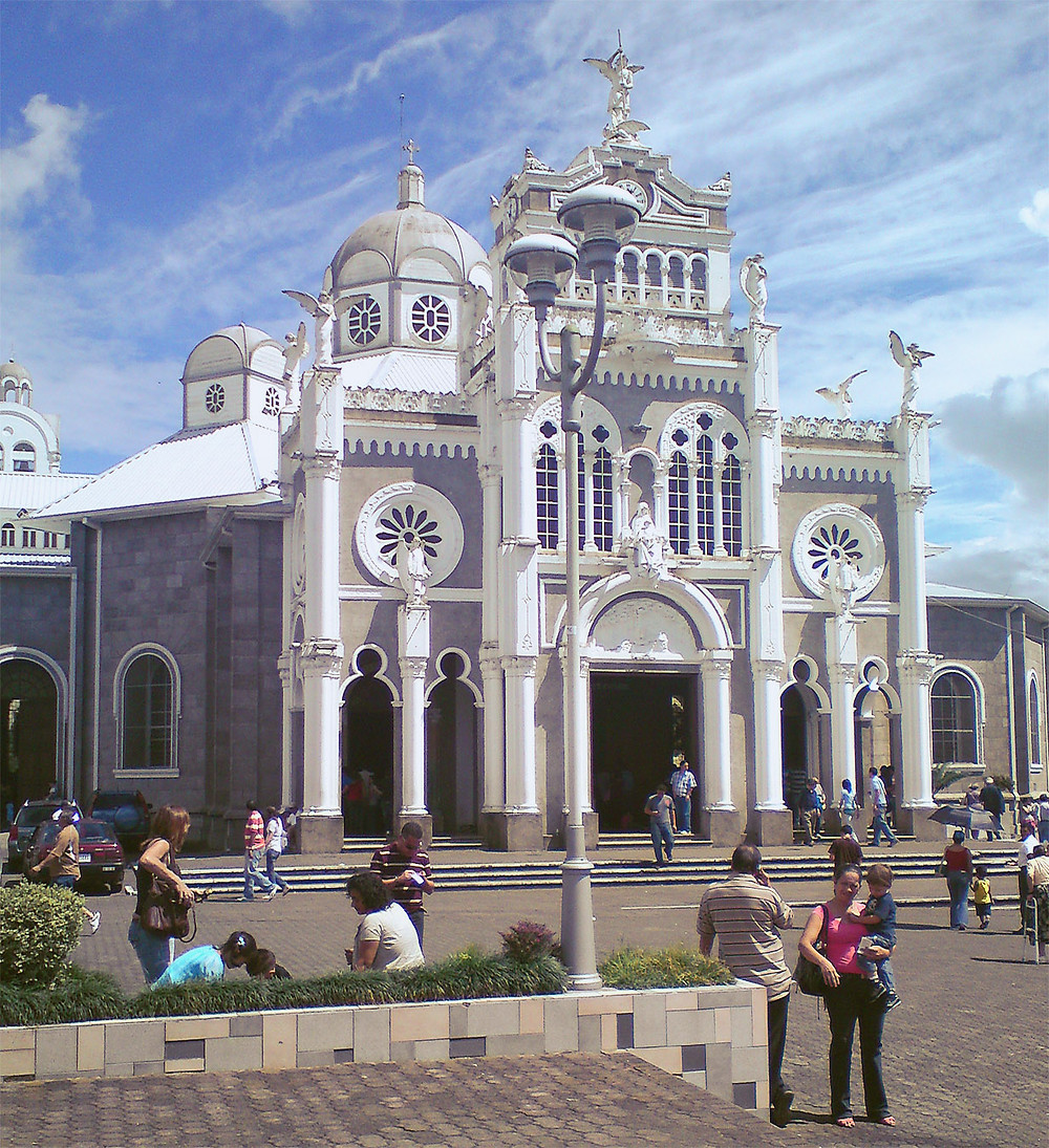 Cathedral in Cartago, Costa Rica