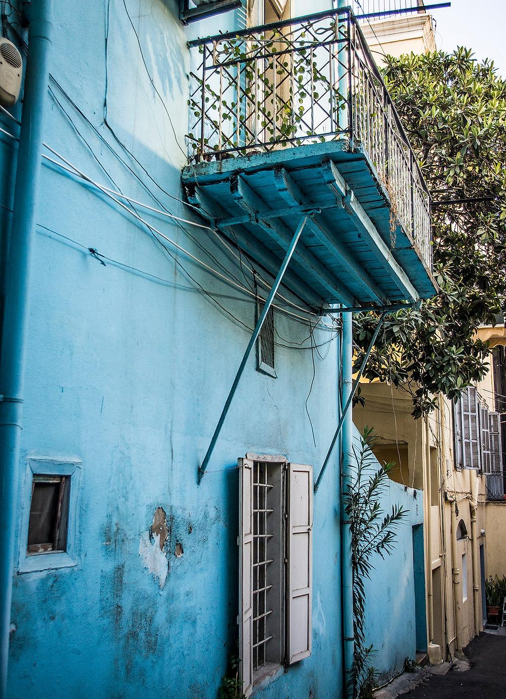 Blue house tea salon, Beirut, Lebanon