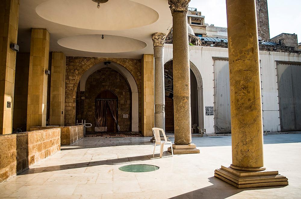Sahn of the Mansour Assaf Mosque, Beirut, Lebanon
