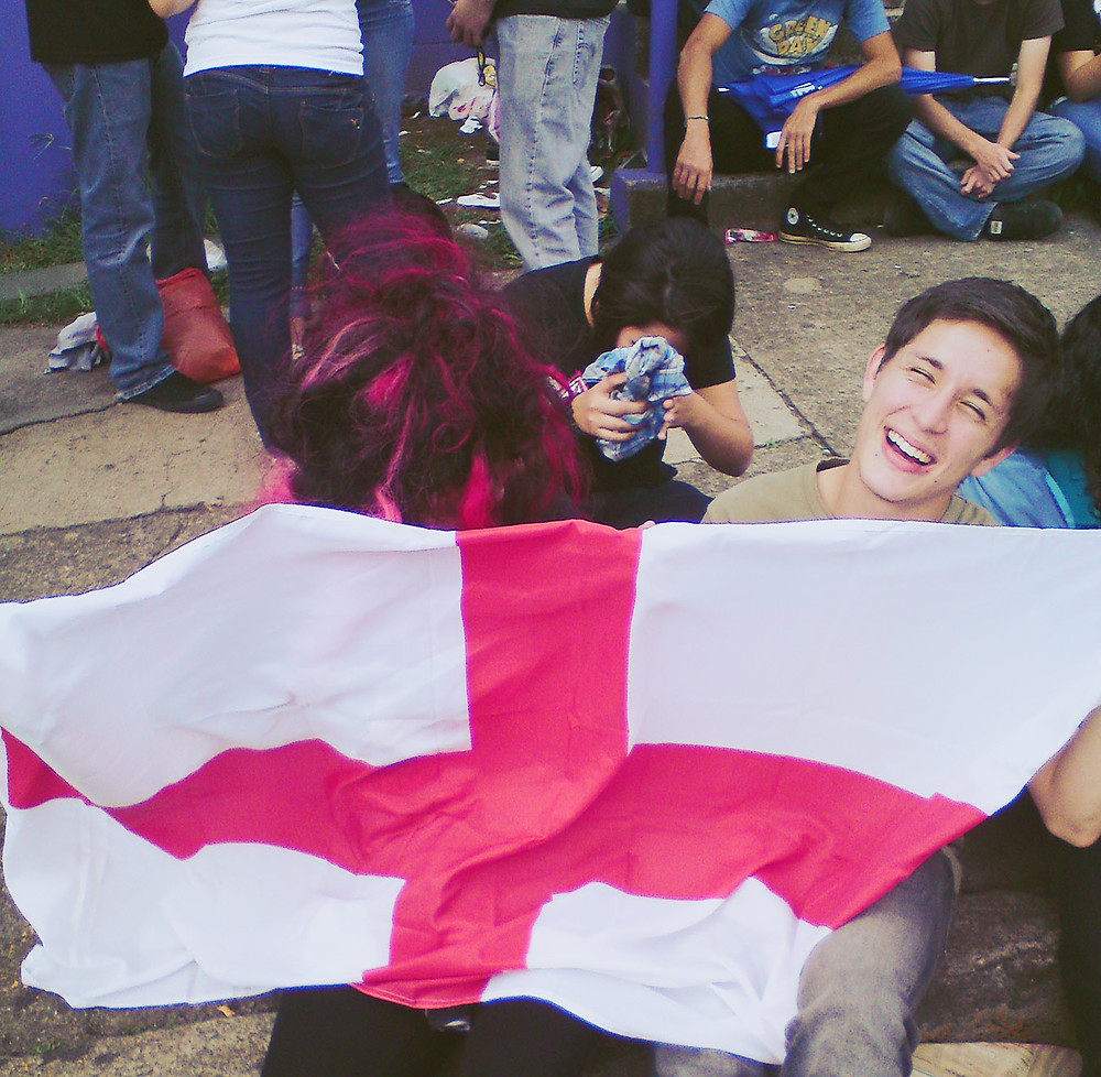 Green Day fans in line in Costa Rica