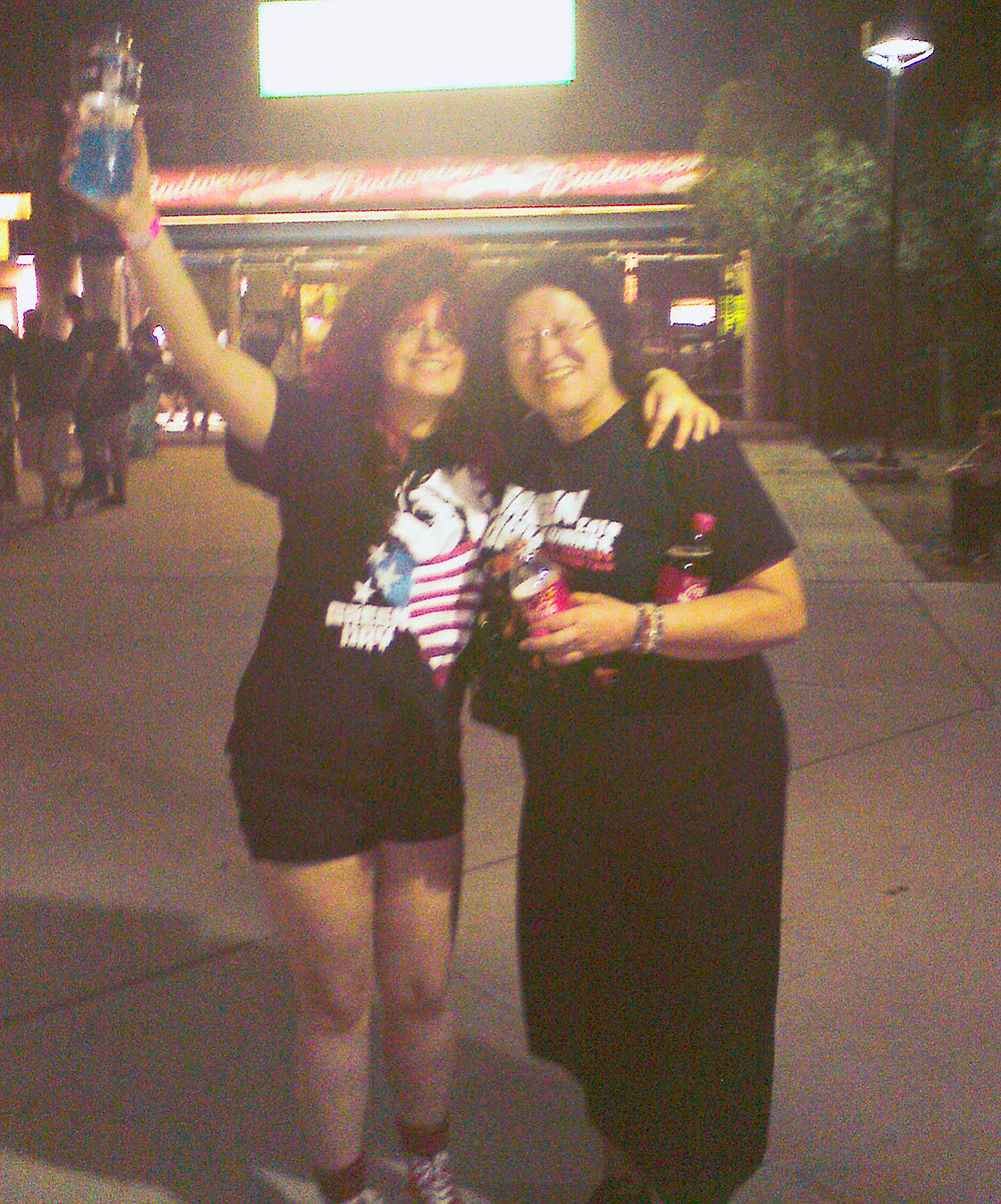 After our first American Green Day show