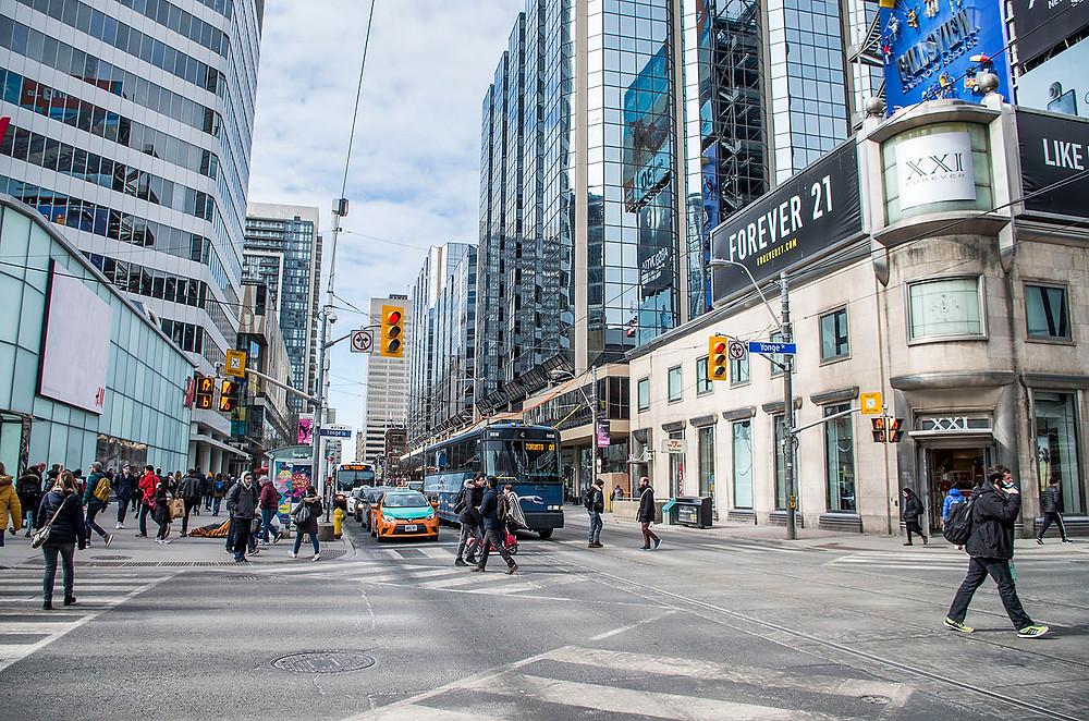 Yonge-Dundas Square Toronto