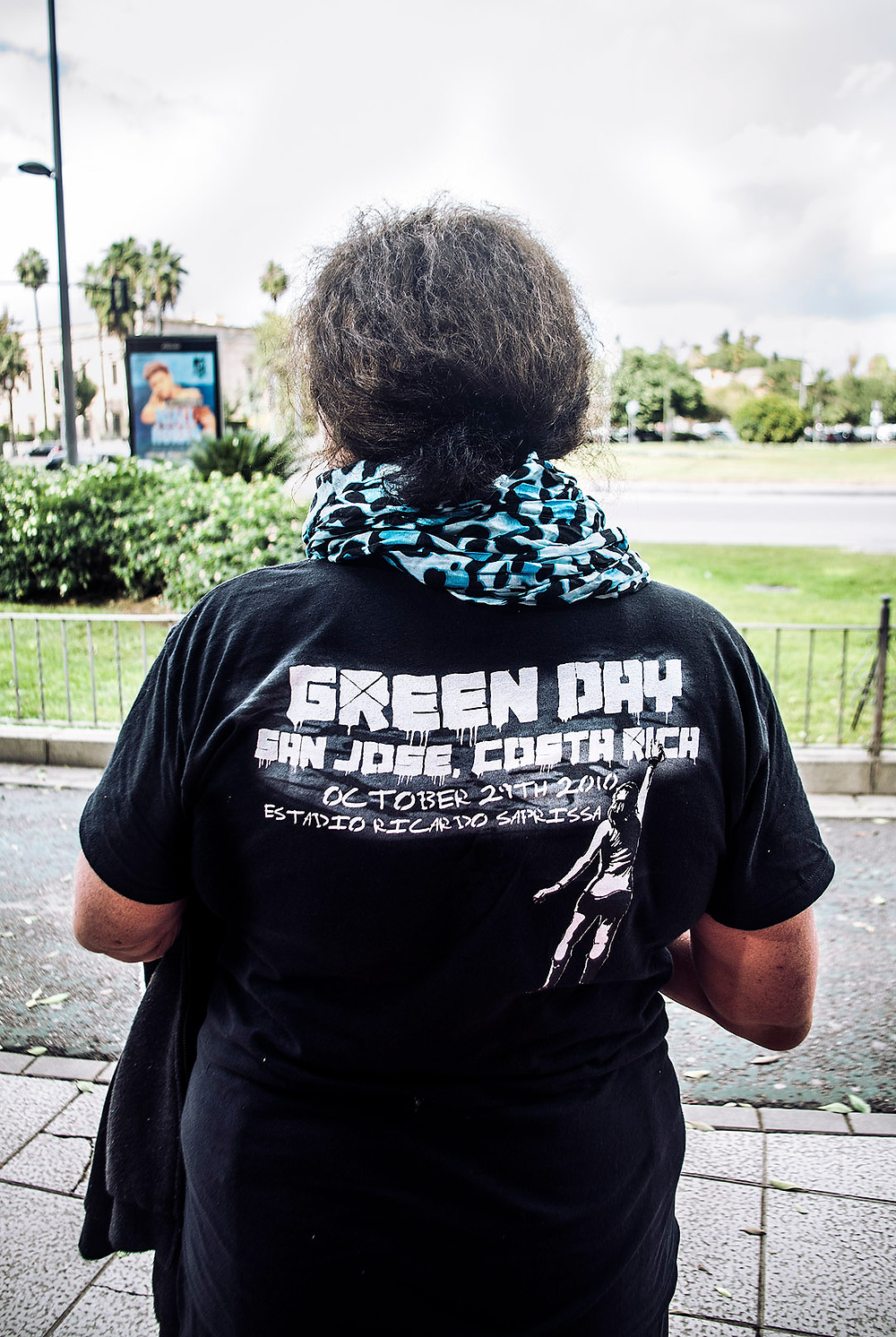 Green Day fans at MTV World Stage in Sevilla, Spain