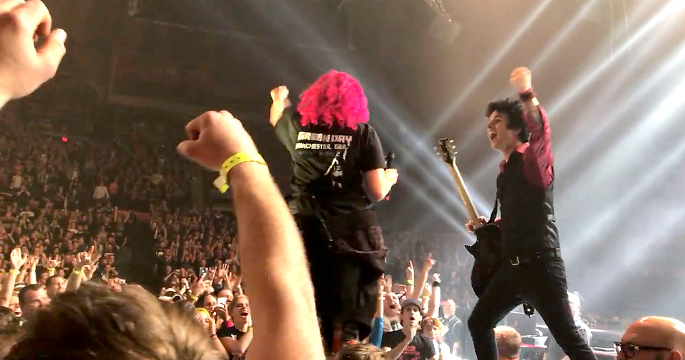 Green Day live in Champaign, IL