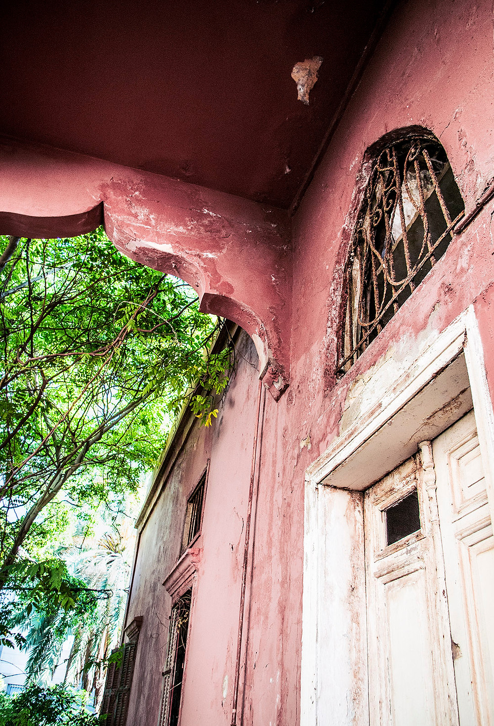 Abandoned Rose House, Beirut, Lebanon