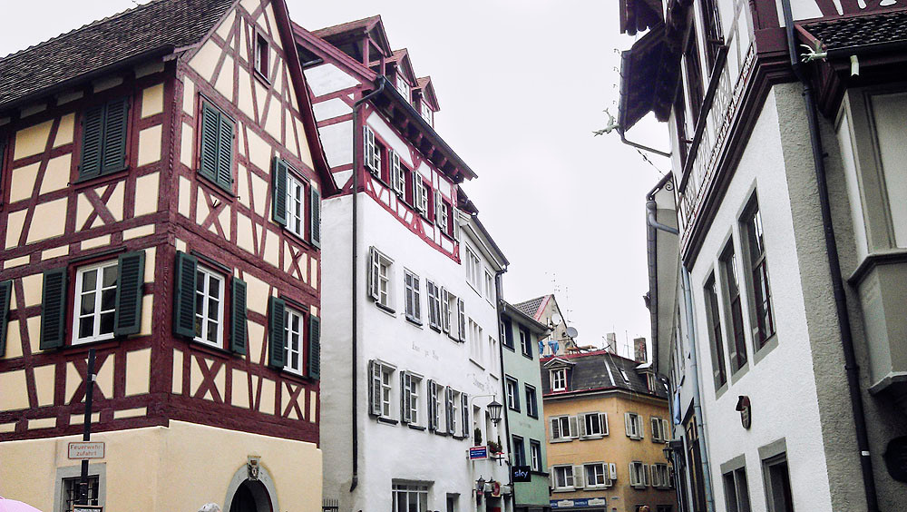 Streets of Konstanz, Germany