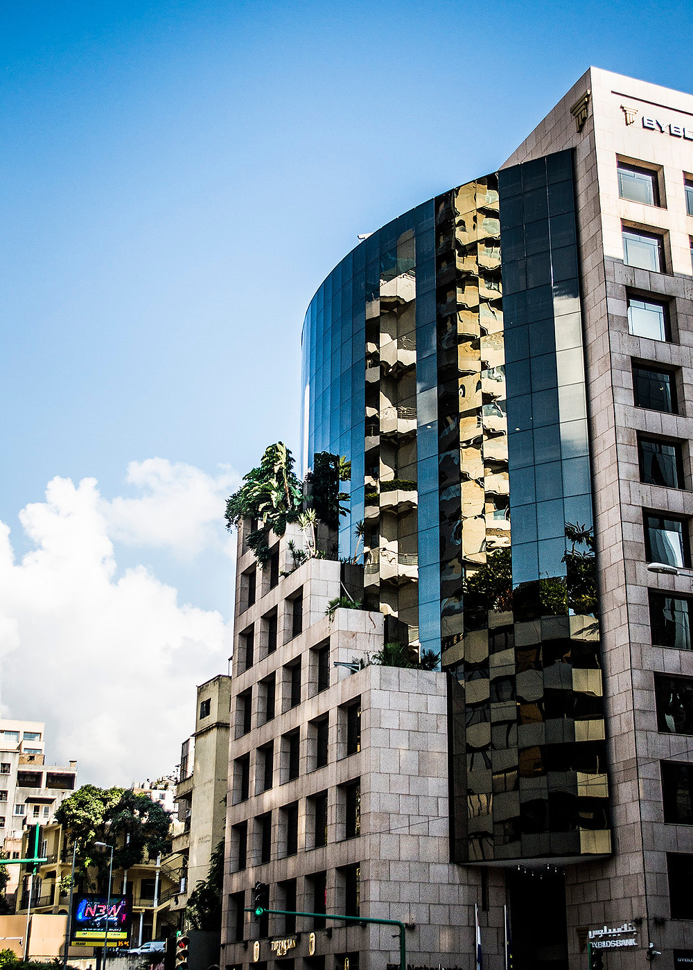 Skyscrapers in Acrafieh, Beirut