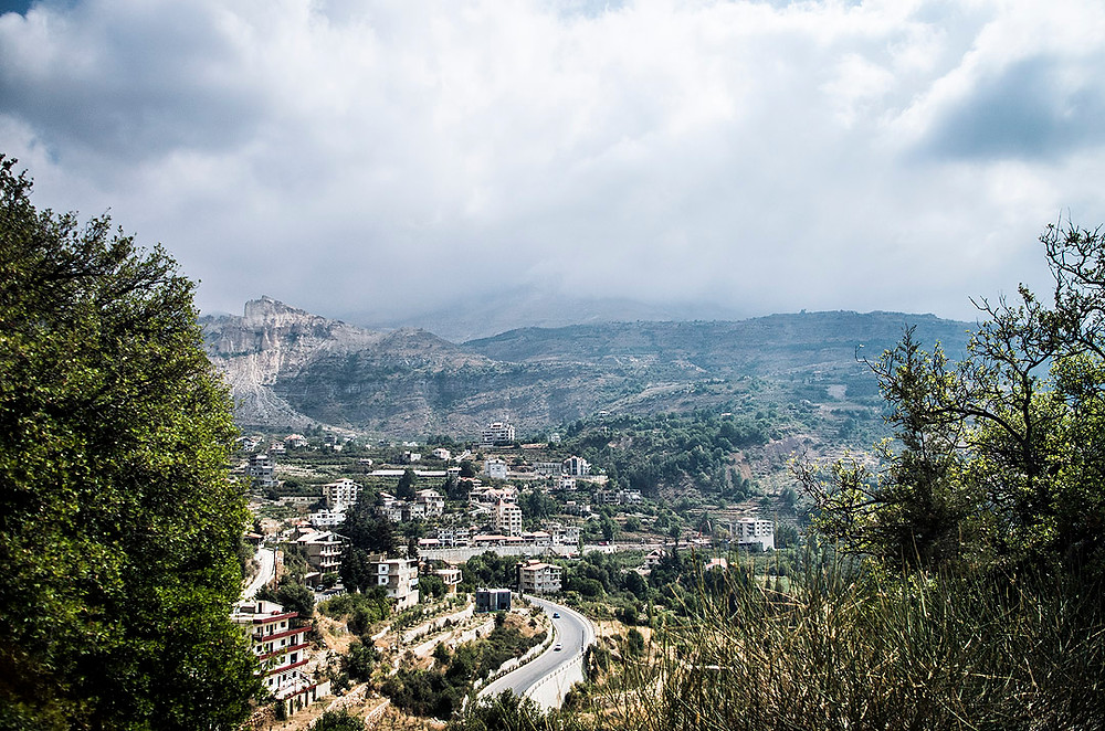 View over Bsharre, Lebanon