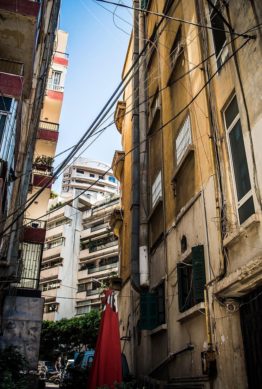 Streets of Ras Beirut, Lebanon