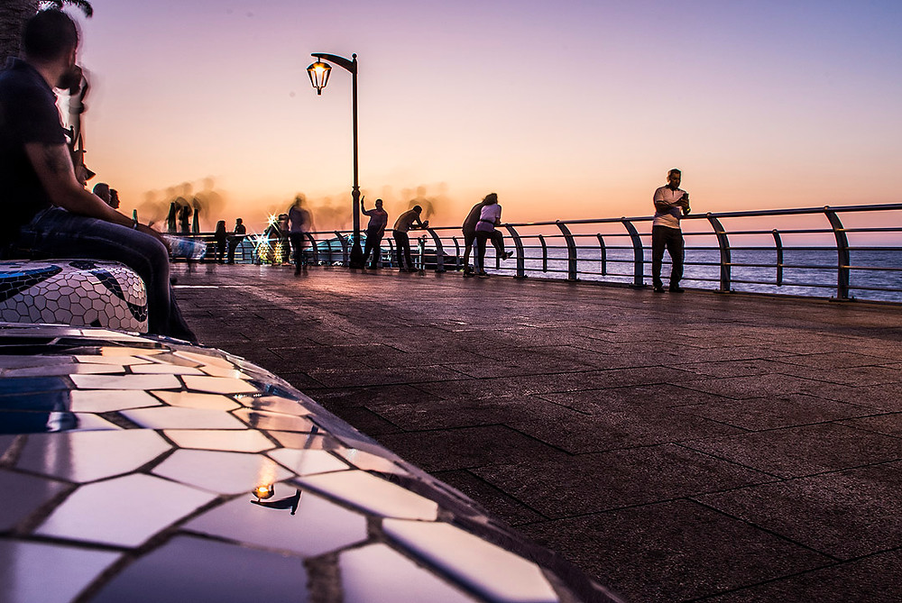 Sunset on the Corniche, Beirut