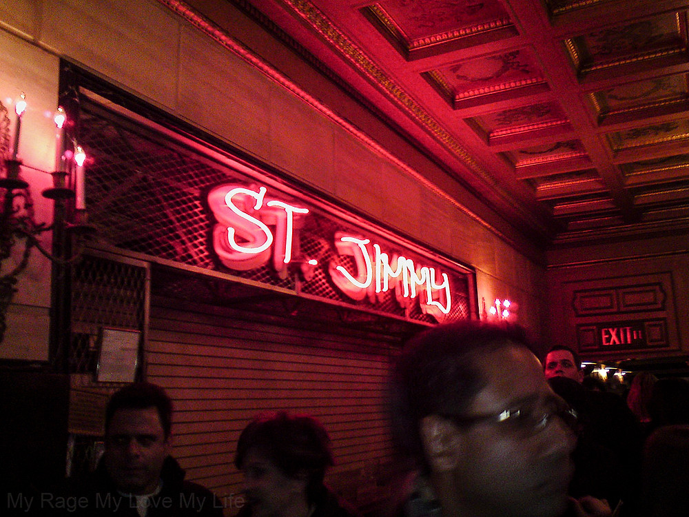 St Jimmy Bar American Idiot St James Theater