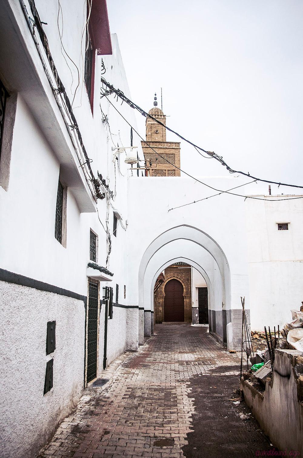 Grand Mosque of Sale Minaret