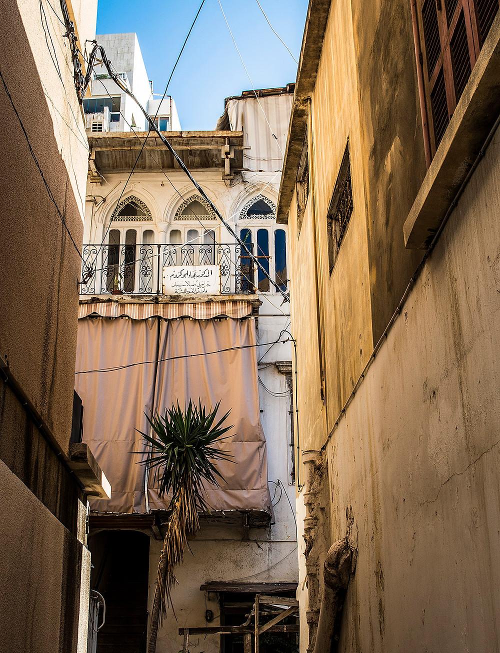 Alleyways in Ras Beirut, Lebanon
