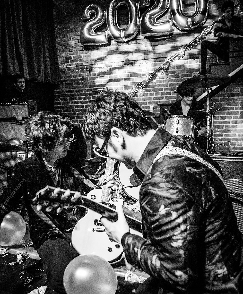 Billie Joe Armstrong and Kevin Preston with The Longshot