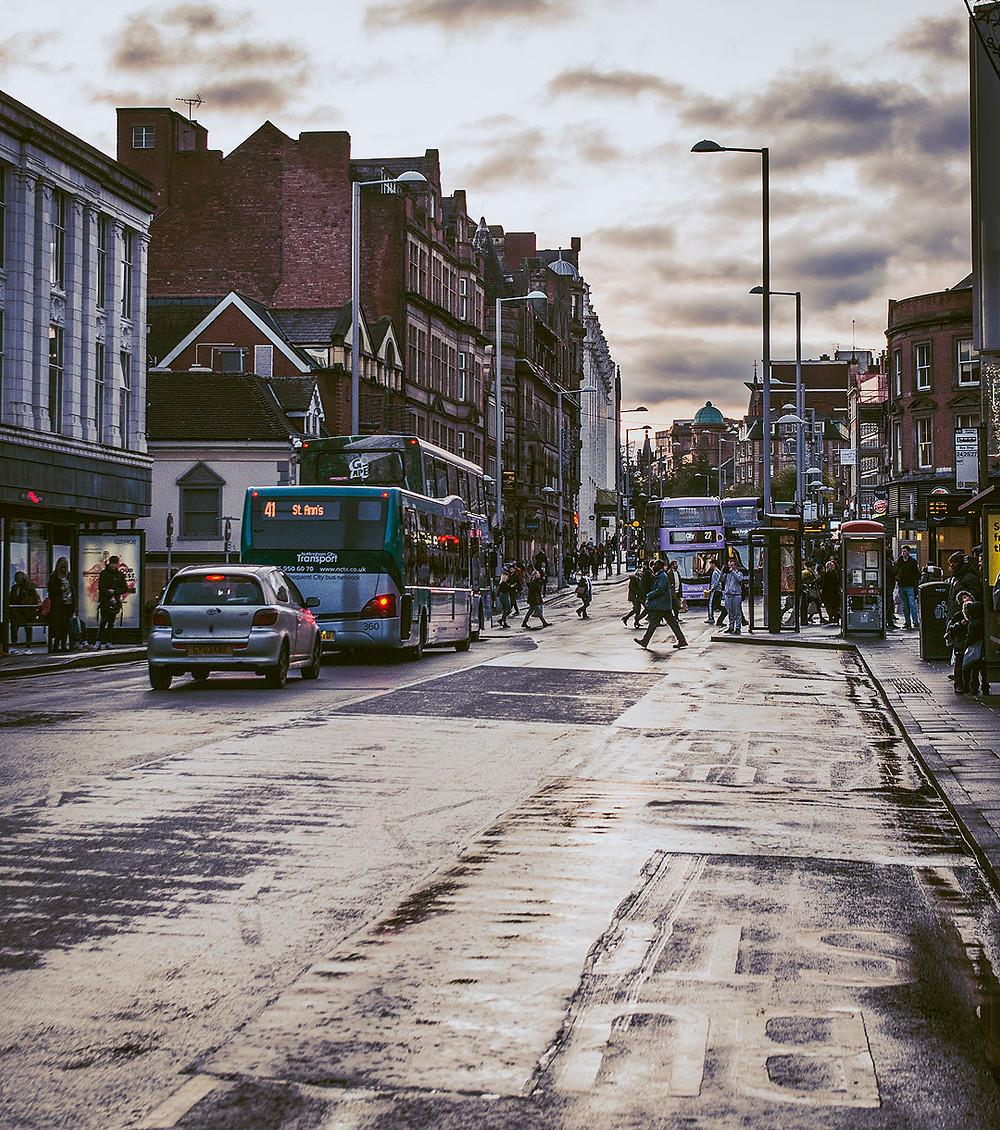Nottingham streets