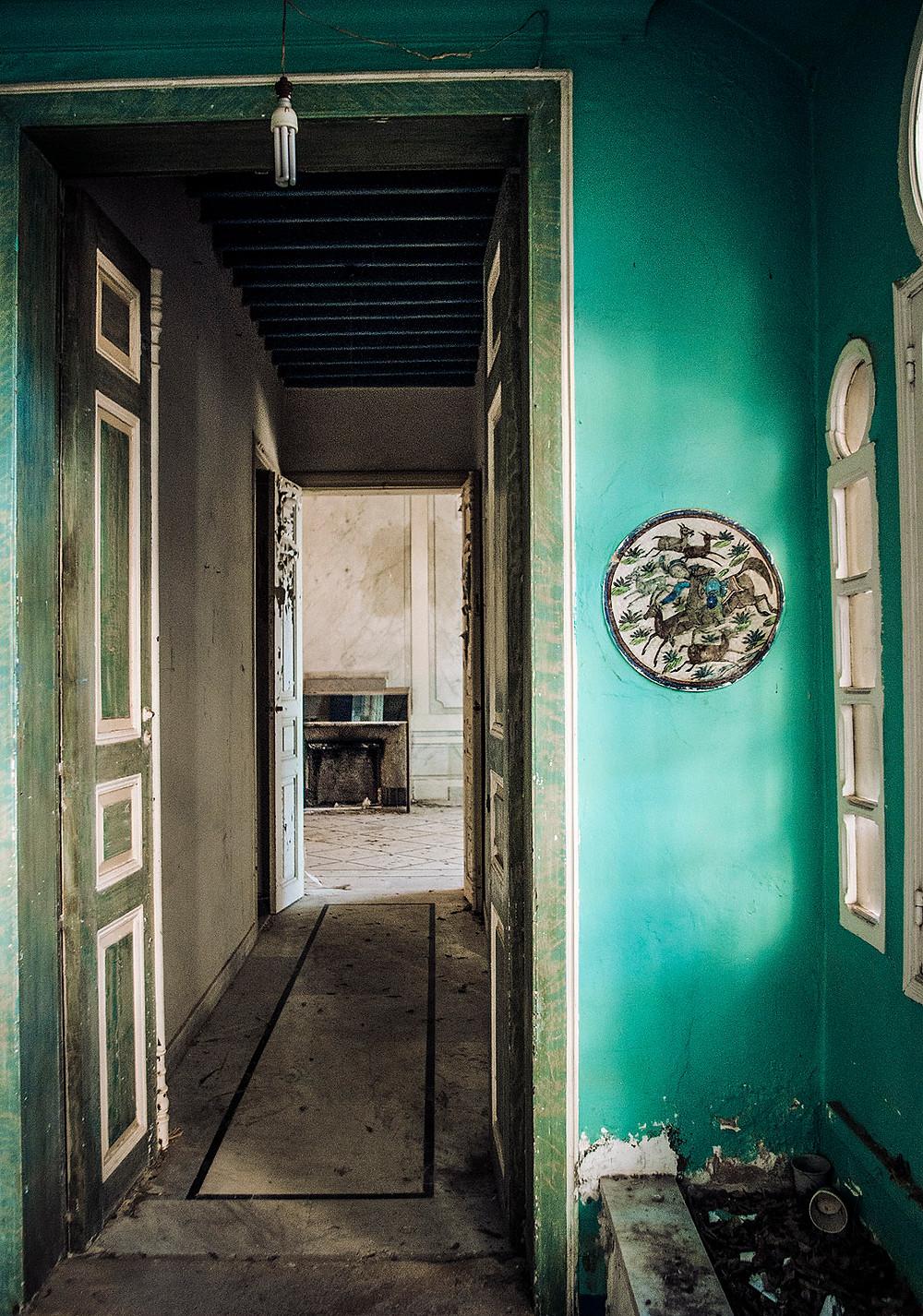 Inside Maison Rose, Beirut, Lebanon