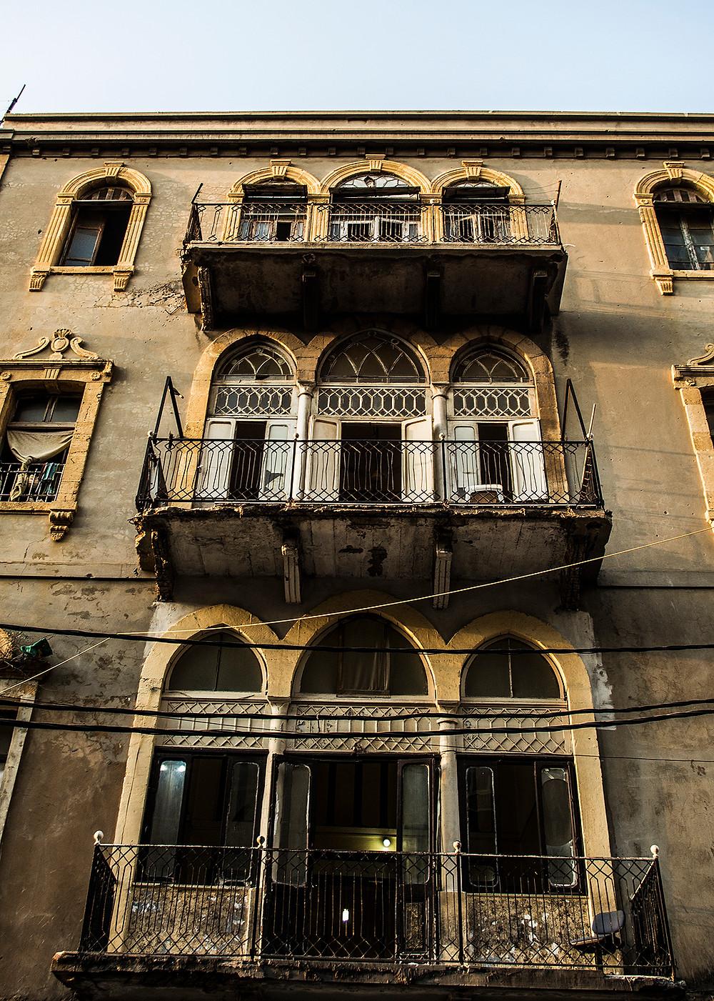 Building on Gourad Street, Beirut