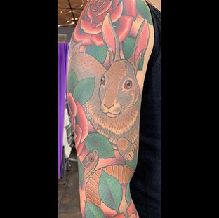 Finished this sleeve up today.  Cant wai