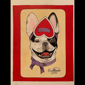 Bert Grimm inspired frenchie.  Thanks to