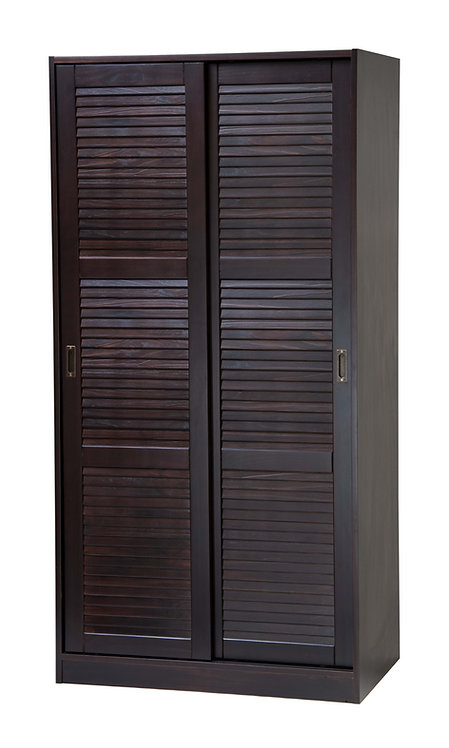 2-Sliding Door Wardrobe -Java