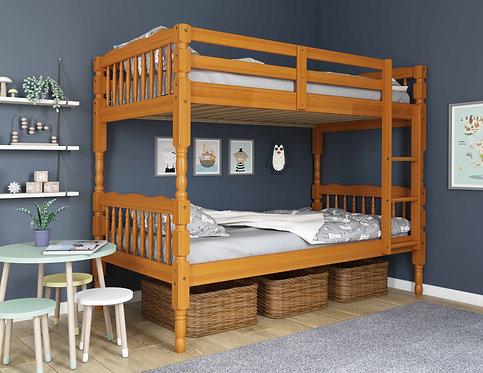 4034 - Arlington Twin/Twin Bunk Bed, Honey Pine