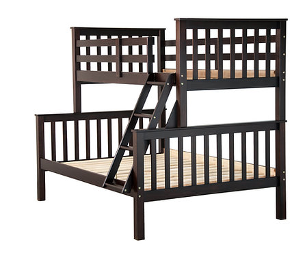 Mission Twin/Full Bunk Bed,Java