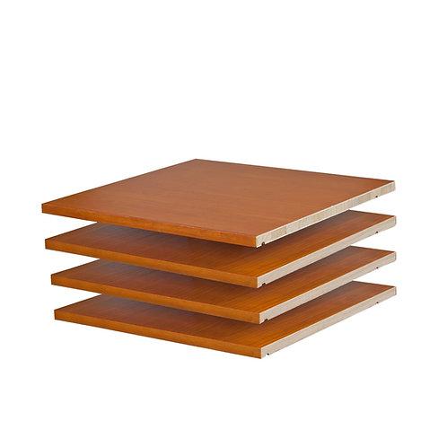 5974 - Family Wardrobe Small Optional Shelves, Set of 4, Honey Pine