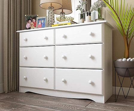 5401 - Double Dresser White