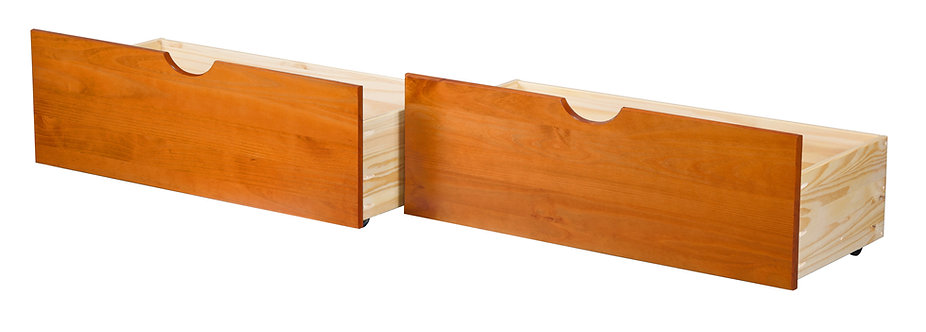 58204 - Two Drawers Honey Pine
