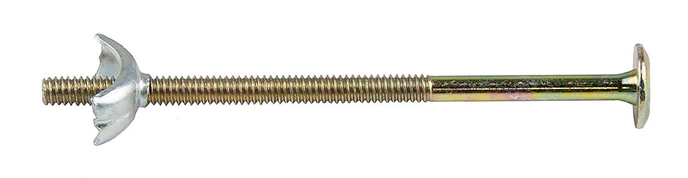 120mm Replacement Bolts and Half-Moon Nuts For Bunkbeds, Set of 4