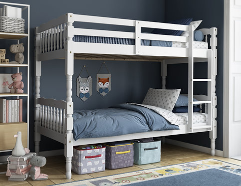 4031 - Arlington Twin/Twin Bunk Bed, White