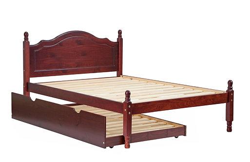 Reston Full Bed W/ Trundle Mahogany