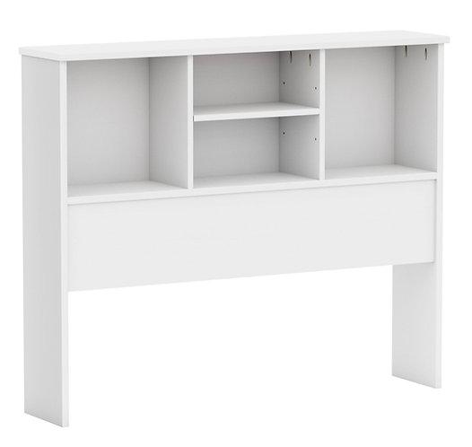 2531 - Twin Kansas Bookcase Headboard White