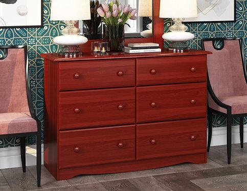 5402 - Double Dresser Mahogany