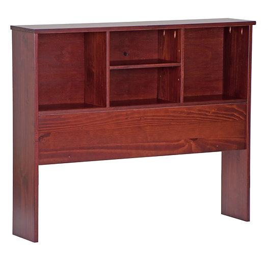 2532 - Twin Kansas Bookcase Headboard Mahogany