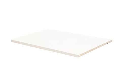 5681 - 100% Solid Wood Optional Shelf for 2- and 3-Sliding Door Wardrobe, White