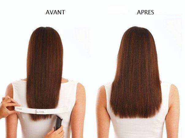coupe cheveux long de dos