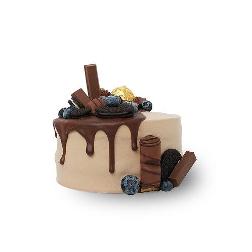巧克力布朗尼千层